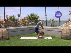 yogaTips: Advanced: Forearm Stand to Scorpion Pose - YouTube