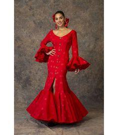 Spanish style – Mediterranean Home Decor Muslim Fashion, Hijab Fashion, Spanish Dress, Spanish Style, Red Frock, Spanish Fashion, En Stock, Feminine Dress, Dream Dress