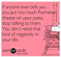 I do LOVE my Parmesan!