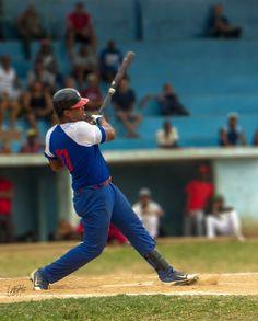 Víctor Altarriva. V Serie Provincial de Béisbol, San Antonio de los Baños, Artemisa, Cuba.
