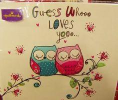 Whooo, whooo! Love you.......