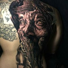 By Artist: @q_tattoos.  #bnginksociety #bgis