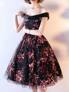 2018 Charming Homecoming Dresses A-line Short Prom Dress