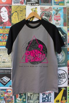 Camiseta Old School Pink Floyd
