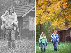 Familienfotos mit Dietmar Wohlfahrt - ein sportliches Quartett | Linse2.at