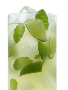 Mint Limeade recipe from Food Network Kitchen via Food Network