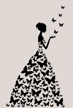 Wallpapers Butterfly dress discovered by lala_pImage uploaded by lala_p. Find images and videos about pretty, wallpapers and backgrounds on We Heart It - the app to get lost in what you love. Art Drawings Sketches Simple, Pencil Art Drawings, Easy Drawings, Butterfly Wall Art, Butterfly Dress, Butterfly Crafts, Mandala Design, Mandala Art, Wall Painting Decor