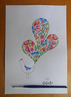 KaKukArt / Ľudový vtáčik