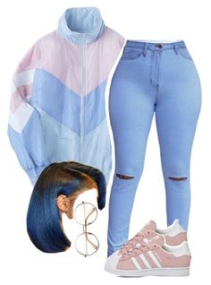 """""""12.28"""" by trinityannetrinity ❤ liked on Polyvore featuring adidas"""