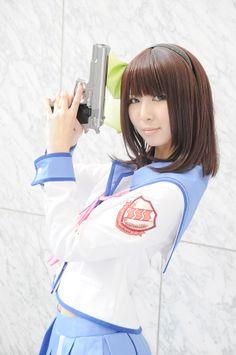 Angel Beats! Cosplay: Yurippe by Rinami | Cosplay-Girls.org #Cosplay #Kawaii