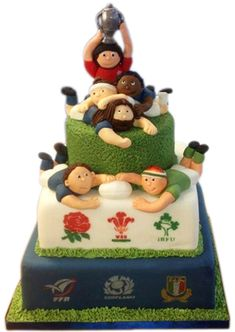 welsh rugby cakes - Cerca con Google