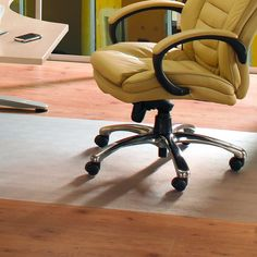 Floortex tex Phthalate-free Chair Mat for Low Pile Carpet
