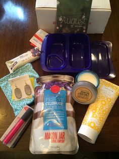 @popsugarmh August 2014 #subscriptionbox is here! Review at subscriptionist.com