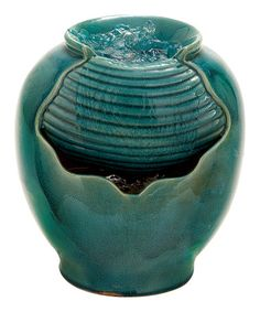 Another great find on #zulily! Teal Fountain #zulilyfinds