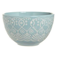 So Pretty - Carolyn Donnelly Eclectic Lace Design Bowl