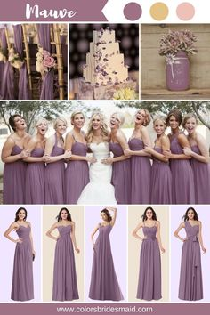 Grape and Mauve Bridesmaid Dresses Cheap Bridesmaid Dresses, Long Bridesmaid Dresses, Chiffon Bridesmaid Dresses, Bridesmaid Dresses Under 100, Bridesmaid Dress Colors, Wedding Bridesmaids, Wedding Gowns, Wisteria Bridesmaid Dresses, Infinity Dress Bridesmaid, Bridesmaid Pictures, Vintage Bridesmaid Dresses, Bridesmaid Duties