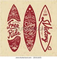 Image result for vintage surf logos