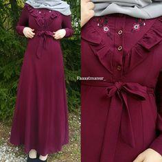 "2,656 Likes, 66 Comments - Fatmanur (@faaaatmanur_) on Instagram: ""Dress: @hilmamoda || Mein Favorit für den Frühling  Ben bayıldım ! Bu güzel rahat ve şık elbisemi…"""