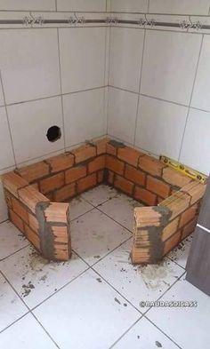 Amenajare soba mica in bucatarie Bathroom Design Small, Bathroom Interior Design, Interior Design Living Room, Interior Decorating, Design Kitchen, Kitchen Decor, Metal Wall Decor, Metal Wall Art, Tile Walk In Shower