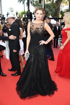 Mischa Barton in Georges Hobeika - Cannes Film Festival 2016