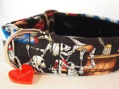 Skellie Hound Designer Dog Collar