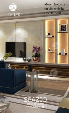A luxury house interior design is not complete without a comfortable living room – a place where people gather and chat.