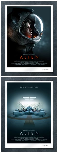 Alien 35th Anniversary poster free with each Alien poster purchase.
