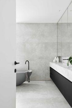 Modern Bathroom Design, Bathroom Interior Design, Bathroom Designs, Interior Garden, Design Kitchen, Kitchen Interior, Interior Simple, Bathroom Trends, Bathroom Ideas