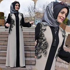 Patentli Modafaz Feracelerimiz STOKLARDA Patentli Modafaz Feracelerimiz STOKLARDA Modest Fashion Hijab, Street Hijab Fashion, Abaya Fashion, Muslim Fashion, Fashion Outfits, Muslim Dress, Hijab Dress, Hijab Outfit, Evening Gowns Couture