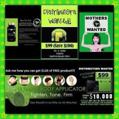 Join my It Works Team today! Want to be your own boss and set your own hours? Become an It Works Distributor and be on your way to freedom.