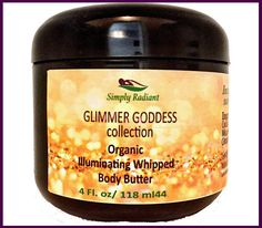 This shimmering organic natural body butter gives your body a beautiful shimmering effect that will make your friends jealous. The combination of Organic Cocoa Butter & Shea Butter will make you that sexy, exotic woman with lusciously smooth skin that nobody could ever dream of resisting. The smell is irresistible, and the touch of it is unbelievable.This 100% natural formula provides maximum moisturizing yet is light, fluffy and non-greasy. Feel confident that you can apply and go about…
