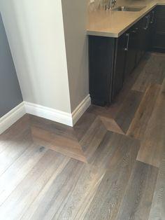 Greige Design - love the flooring border pattern