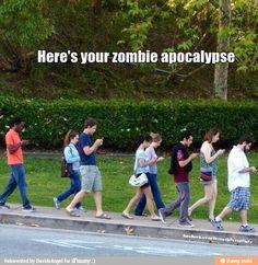 yeah....zombie apocalypse