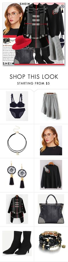 """shein-III-5"" by ane-twist ❤ liked on Polyvore featuring shein"