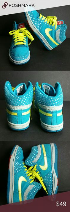 NIKE COURT FORCE HI WOMEN SHOES VERY CLEAN INSIDE-OUT   SKE # BBC NIKE Shoes Athletic Shoes