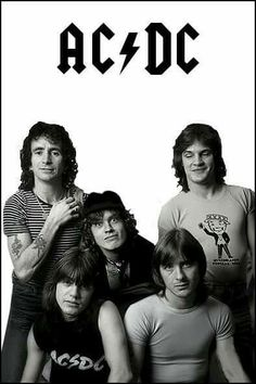 Rock And Roll Bands, Rock Bands, Rock N Roll, Bon Scott, Pochette Cd, Ac Dc Rock, 80s Hair Bands, Angus Young, Band Pictures