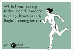 This would be me if I ran. Lol!