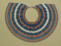 Xhosa beaded collar Ancient Egyptian Jewelry, Xhosa, Beaded Collar, African Jewelry, Art History, South Africa, Beadwork, Beading, Glass Beads