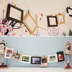 Hanging Frames, Kraft Paper, Nurseries, Gallery Wall, Bedroom, Baby, Accessories, Home Decor