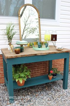 1000 Images About Outdoor Buffet Table Ideas On Pinterest