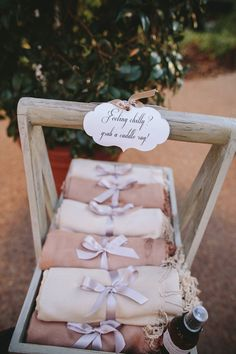 wedding favor idea; photo: Merge Photography