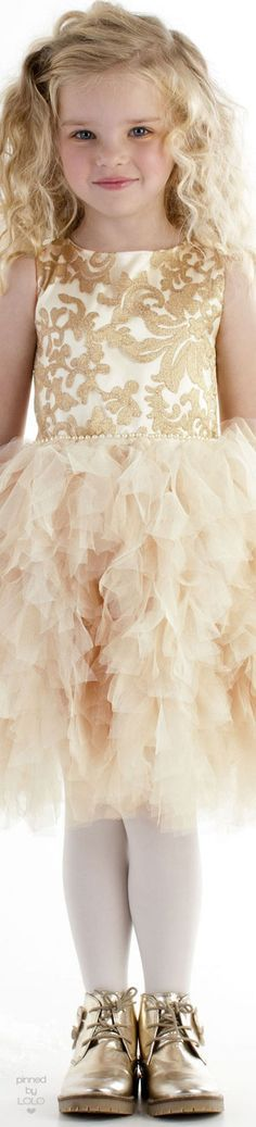 Gold and Tulle |  LOLO❤︎