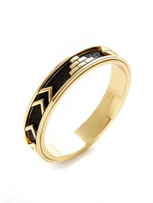 Gilt Exclusive Aztec Bangle Bracelet by House of Harlow 1960 at Gilt