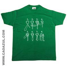 NÓ DE GRAVATA - t-shirt