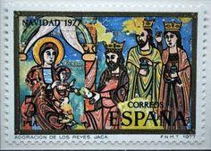 postage stamp: postage stamp, Spain, 1977