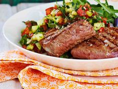Nom Nom, Salsa, Steak, Food And Drink, Dinner, Baking, Recipes, Cook, Drinks