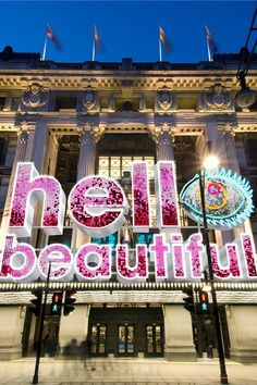 Excited about #thebeautyproject @Selfridges.com.com... Lets celebrate #beauty in all its wondrous forms. #makebeauty x