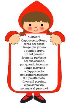 """fiabastrocca """"cappuccetto rosso"""""""