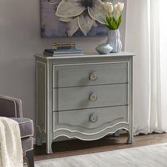 Madison Park Skyline Castro /White Wood Dresser