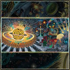 Rings of Saturn - Gidim Rings Of Saturn, Wall Banner, High Quality Images, Flag, Clouds, Album, Music, Painting, Art